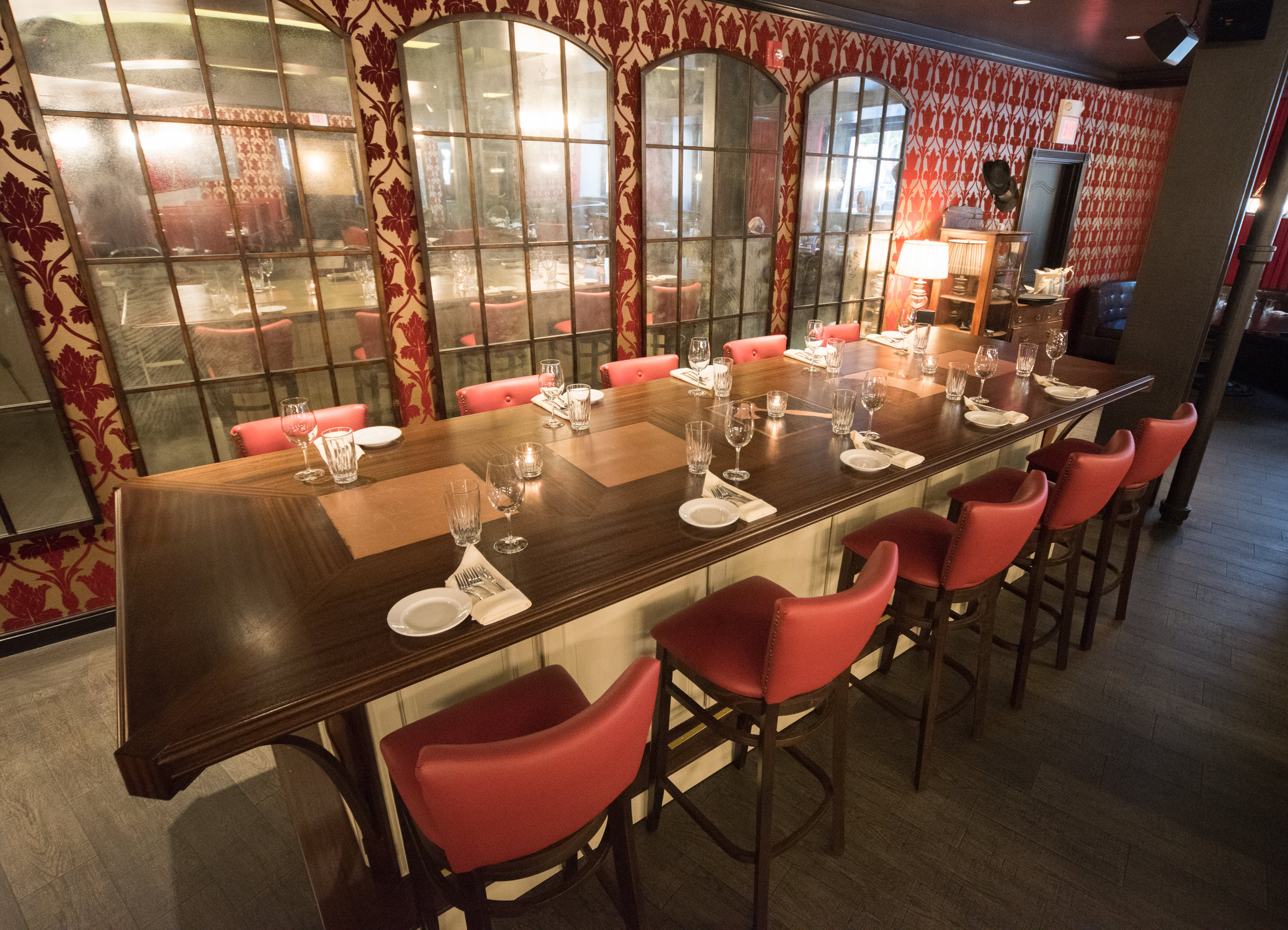 Main Dining Room at Carrie Nation, Boston's Beacon Hill