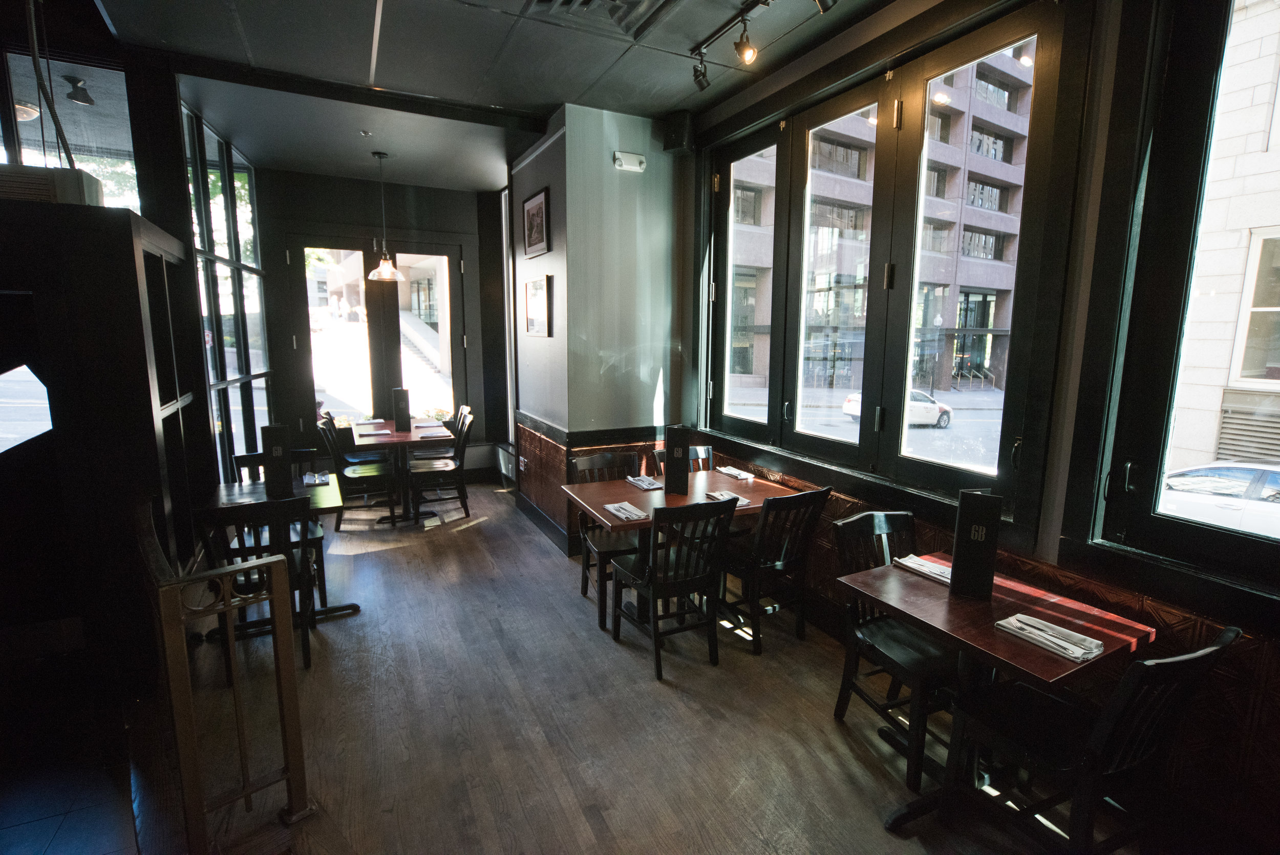 Event venue, 6B Lounge located in Boston's Beacon Hill
