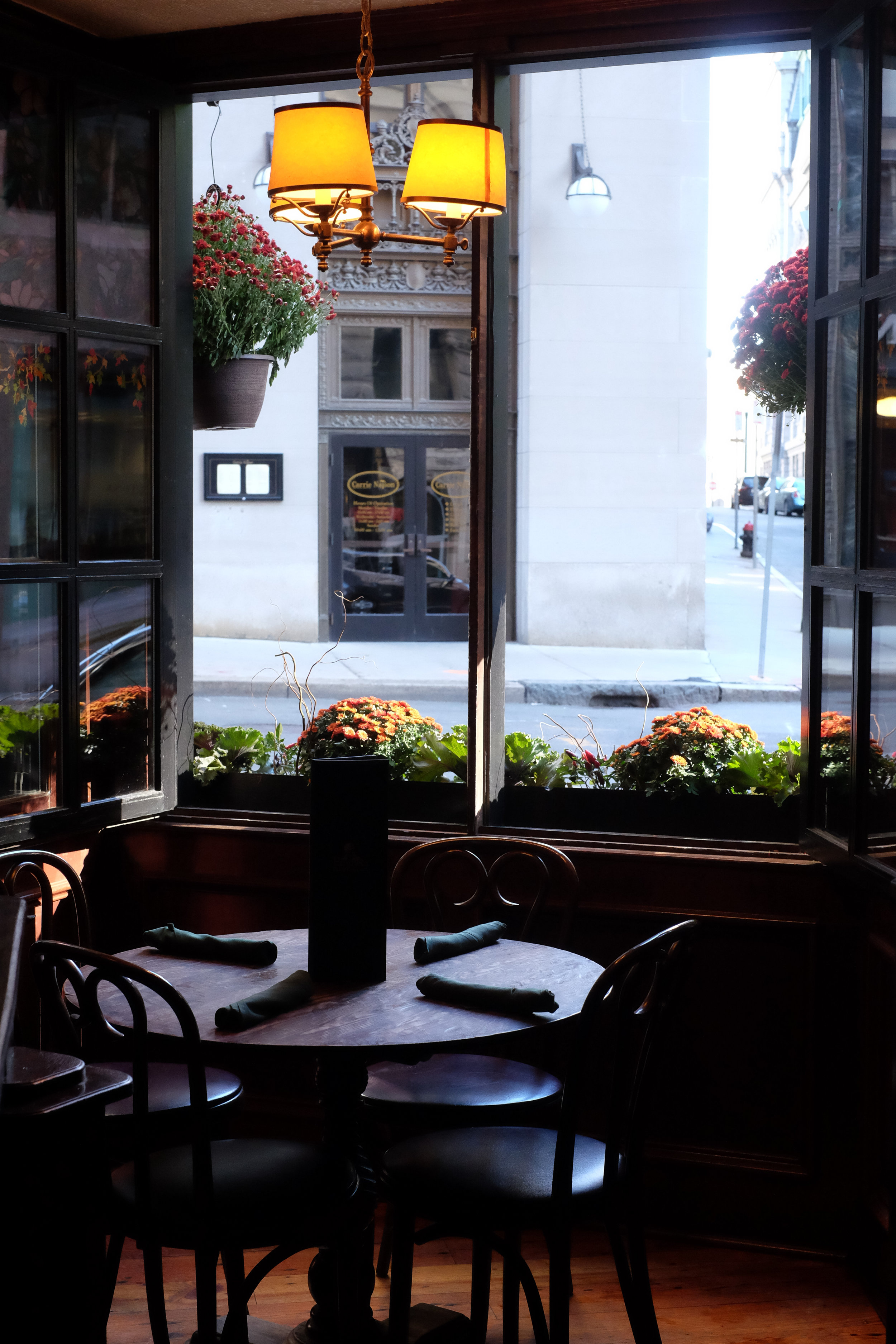 Window views of top Boston event space, Emmets