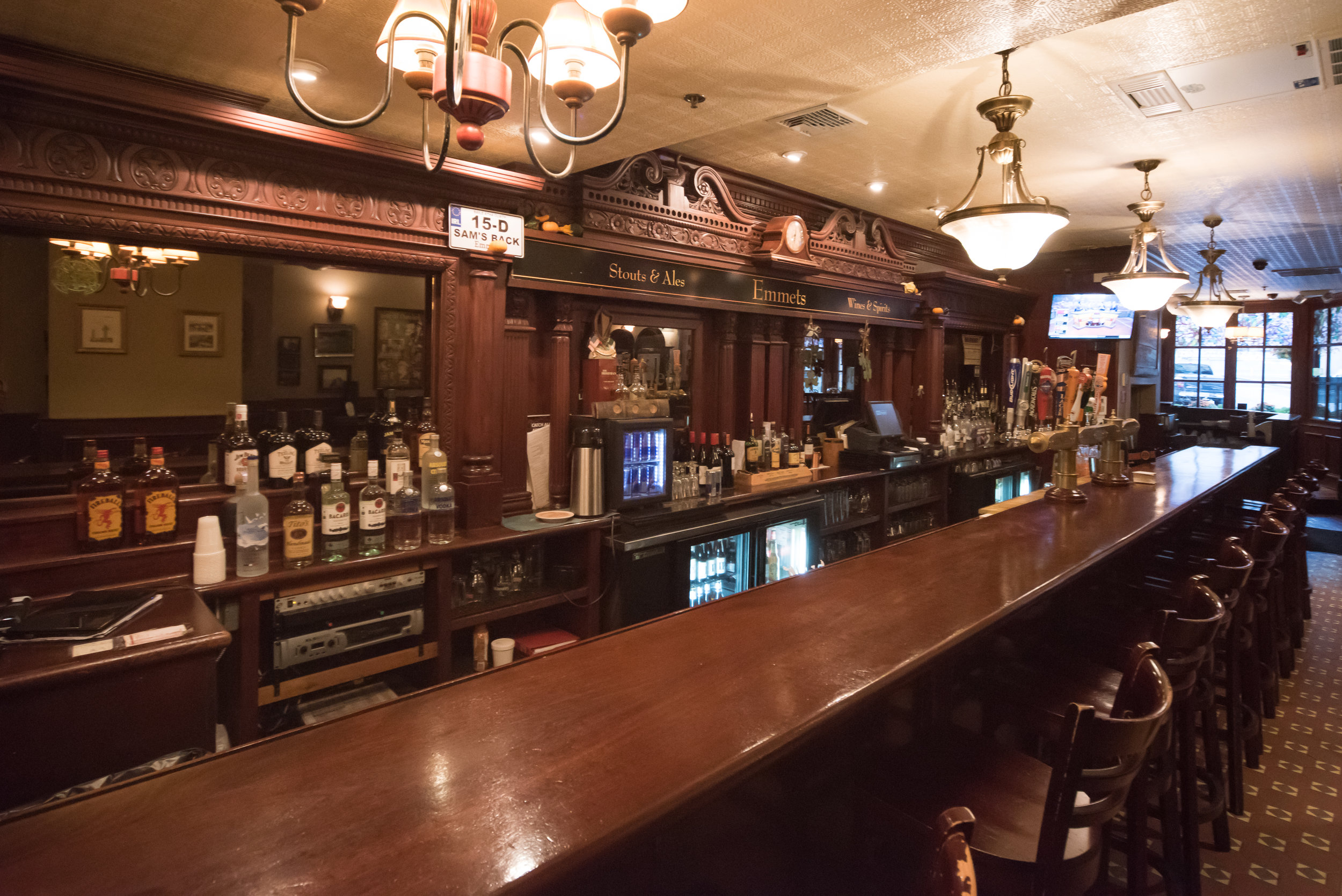 Interior look at top Boston event space, Emmets