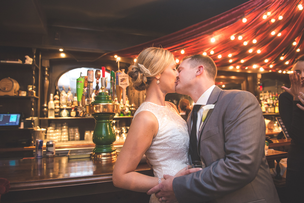 Wedding Reception at Carrie Nation, Boston's Beacon Hill