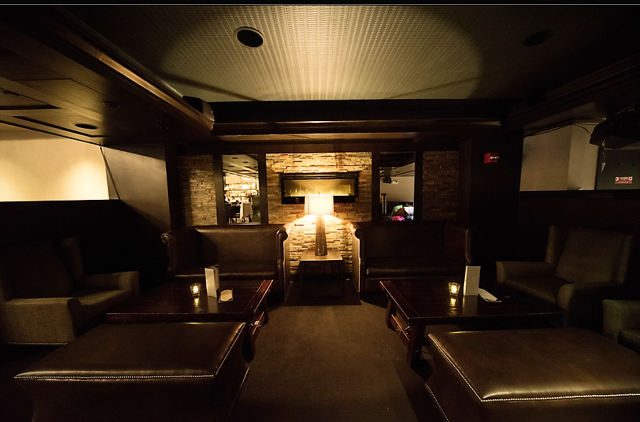 Interior shot of our Boston-based event venue, Scholars Bistro & Cocktail Lounge