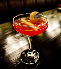 Photo of a cocktail at Carrie Nation in Boston, MA
