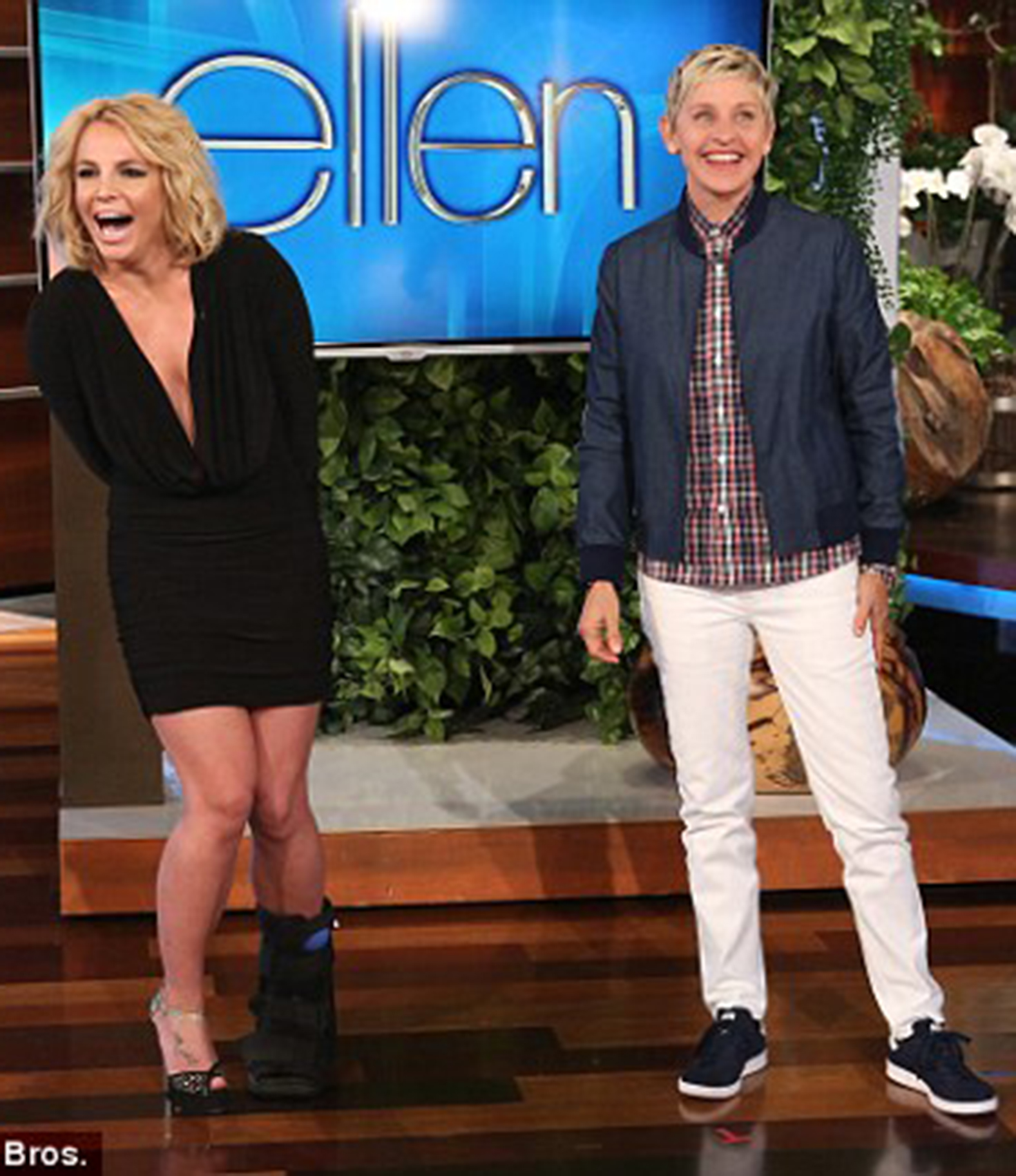 Britney Spears on Ellen Degeneges