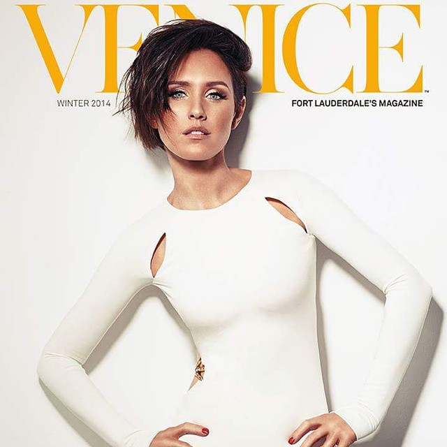 Nicky Whelan for Venice Magazine cover