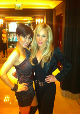 Trang Phung with Adrienne Maloof