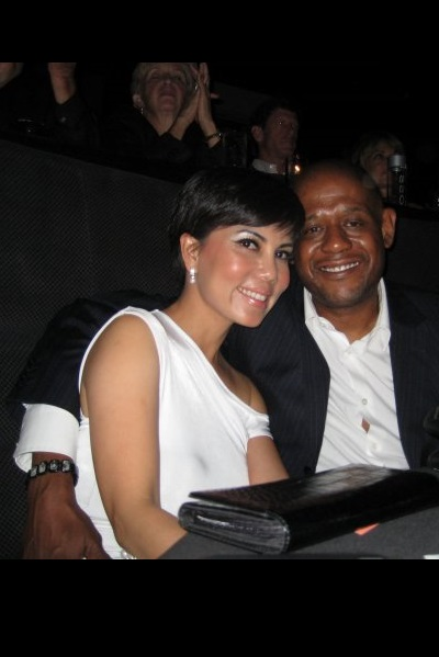 Trang Phung with Forest Whitaker