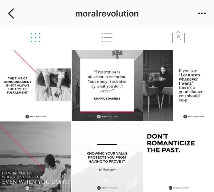 MORAL REVOLUTION  - @MoralRevolutionBlog / for incredible insight on all the messy stuff we don't talk about in church