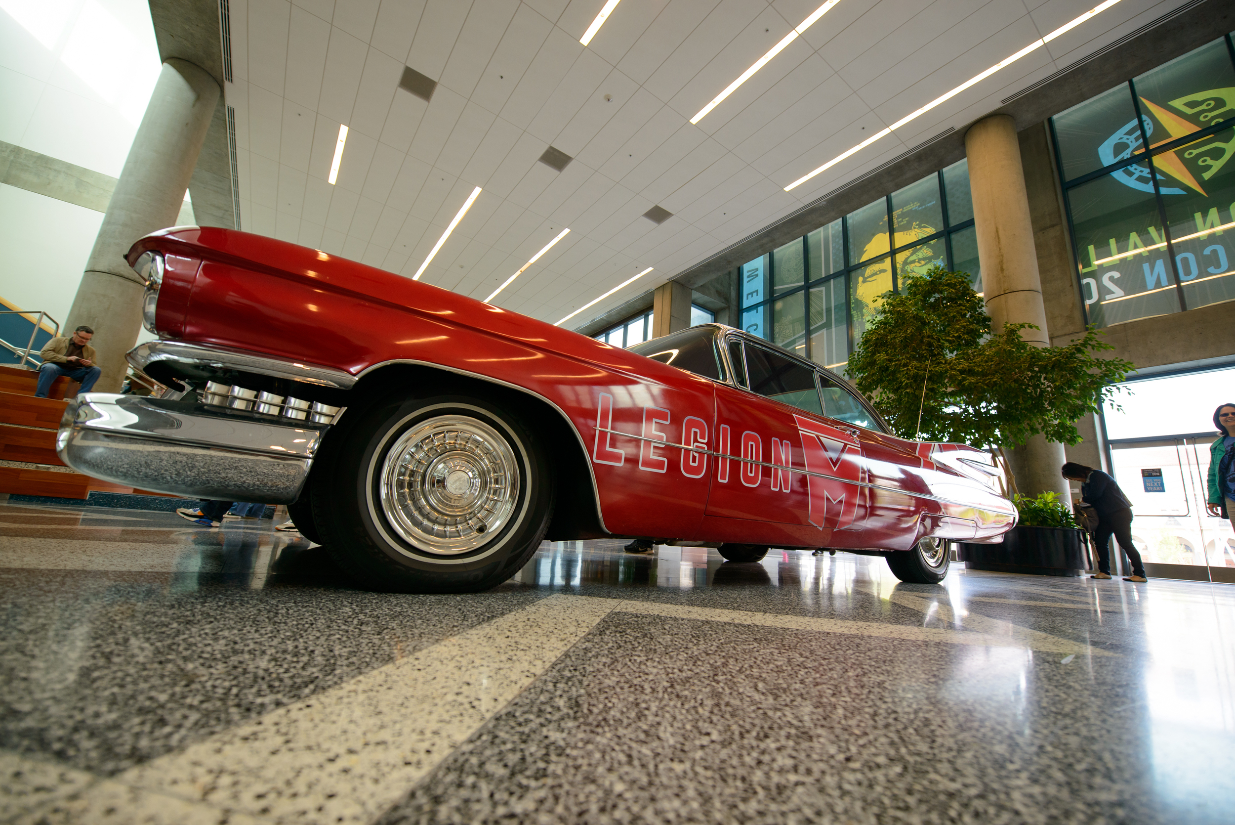 Marilyn is a '59 Cadillac. Just like her namesake (Marilyn Monroe), she looks absolutely stunning in Candy Apple Red...