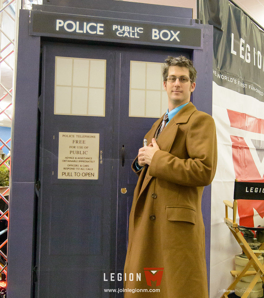 Oh yeah, we also had a Tardis!