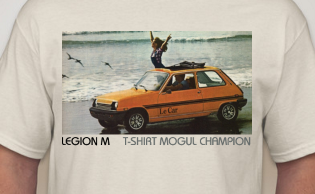 Congratulations to Haley and Scott, T-Shirt Mogul Champions and KING OF THE WORLD!