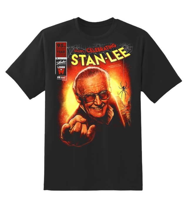 celebrating stan lee t-shirt