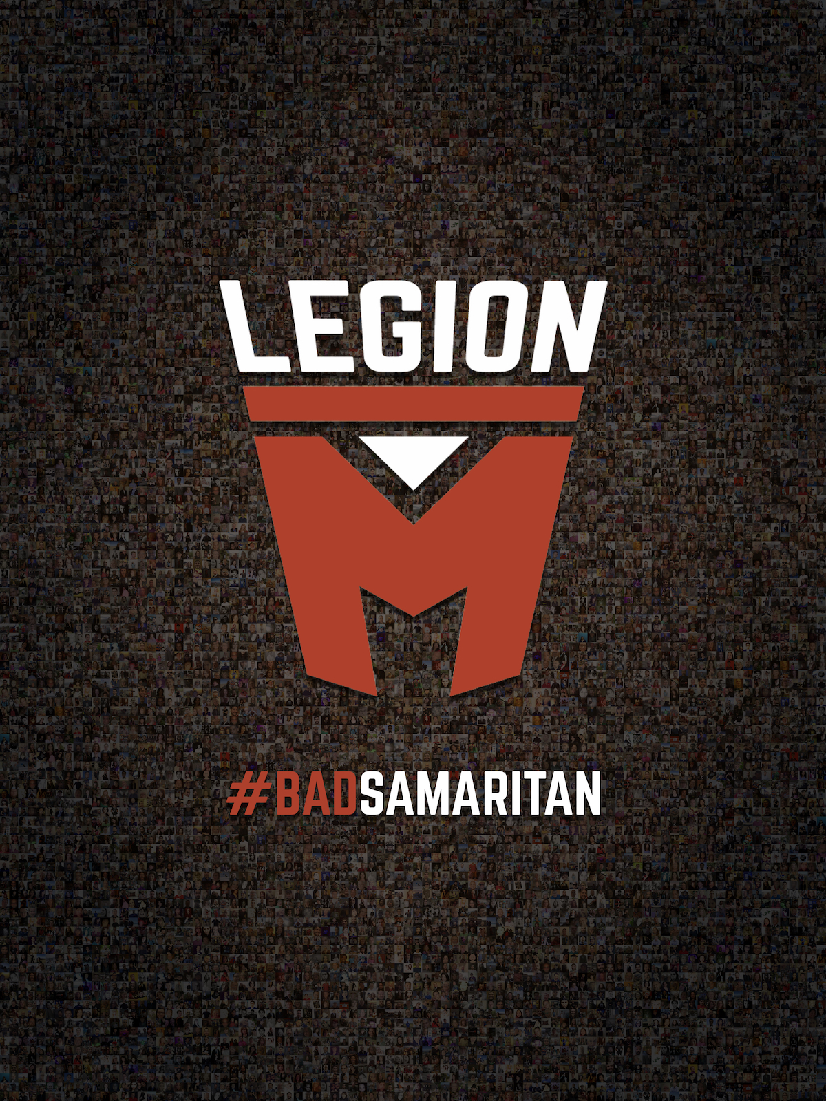 We created a Legion M signature photomosaic movie poster special for the occasion!