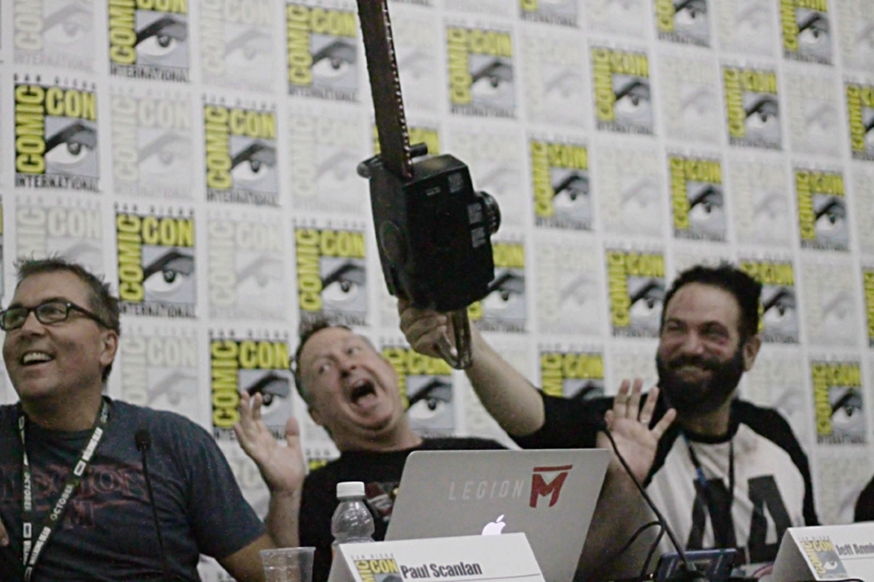 Legion M Execs during at SDCC Panel: How Fandom Is Changing Hollywood