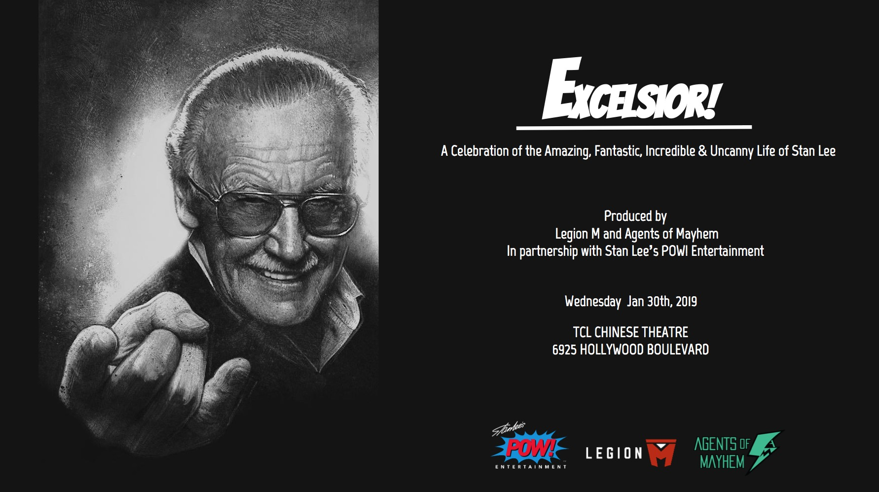 excelsior a stan lee tribute