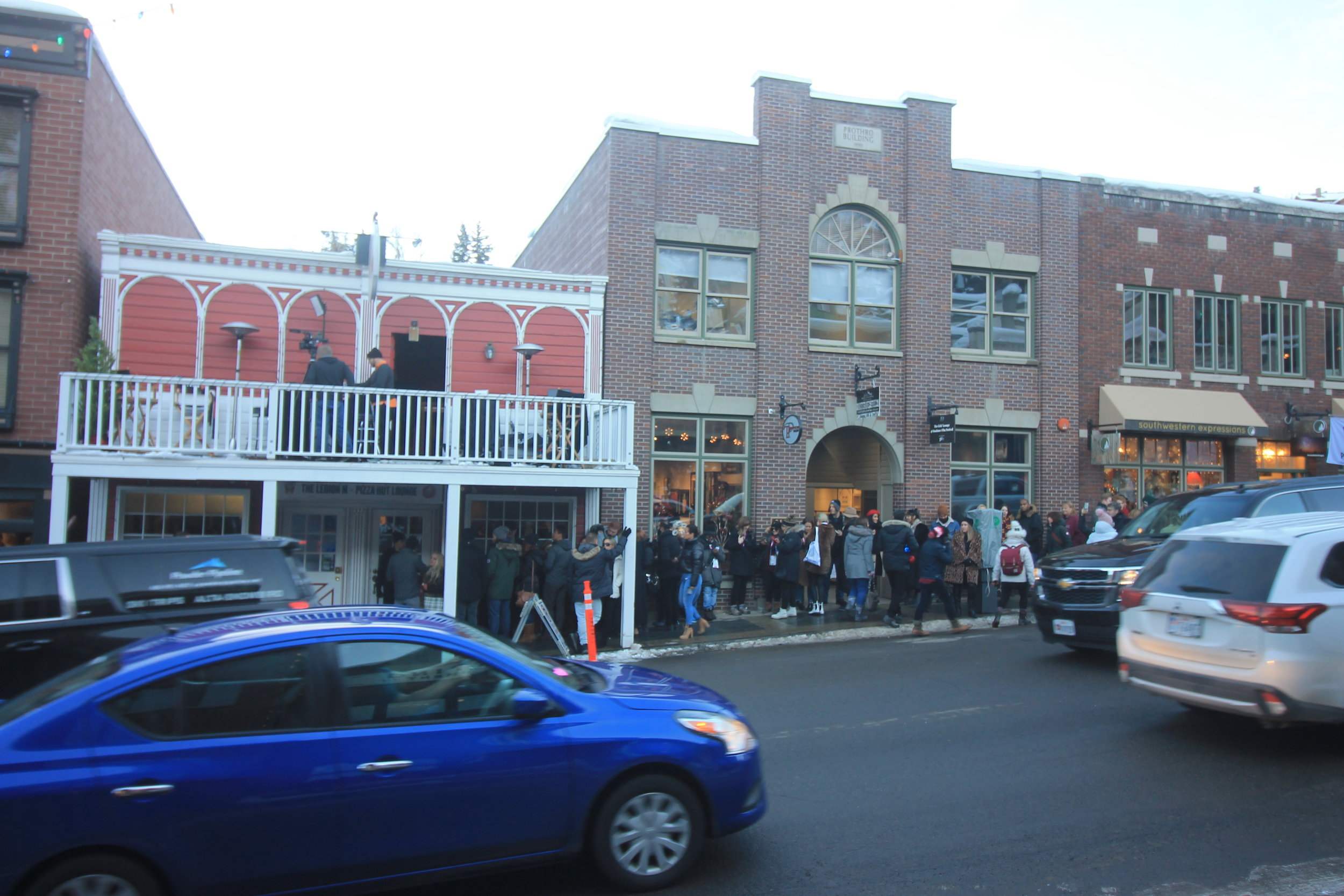 A line out the door and up the street all weekend!