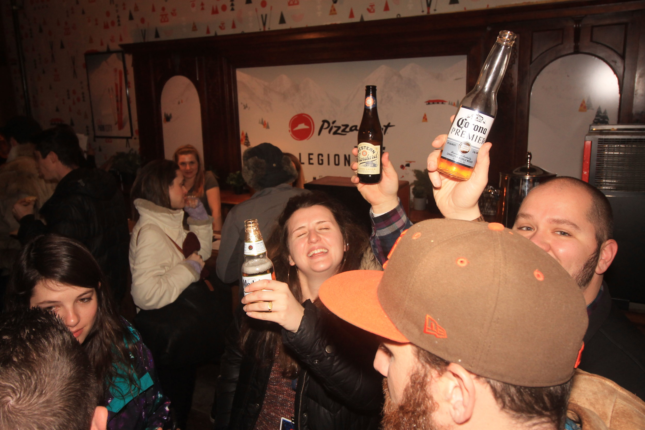It's always a party with free Constellation Brands beer!
