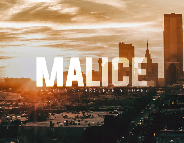 """""""Malice""""  by Evan Wasserstrom (One-hour drama series)   Imagine a world where Romeo and Juliet didn't die, and the Montagues and Capulets are the most dangerous of in-laws. Is Philadelphia really the city of brotherly love?"""