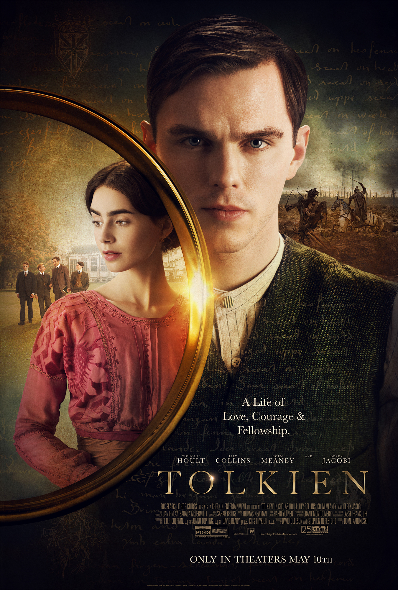 Tolkien screening tickets at the Legion M booth