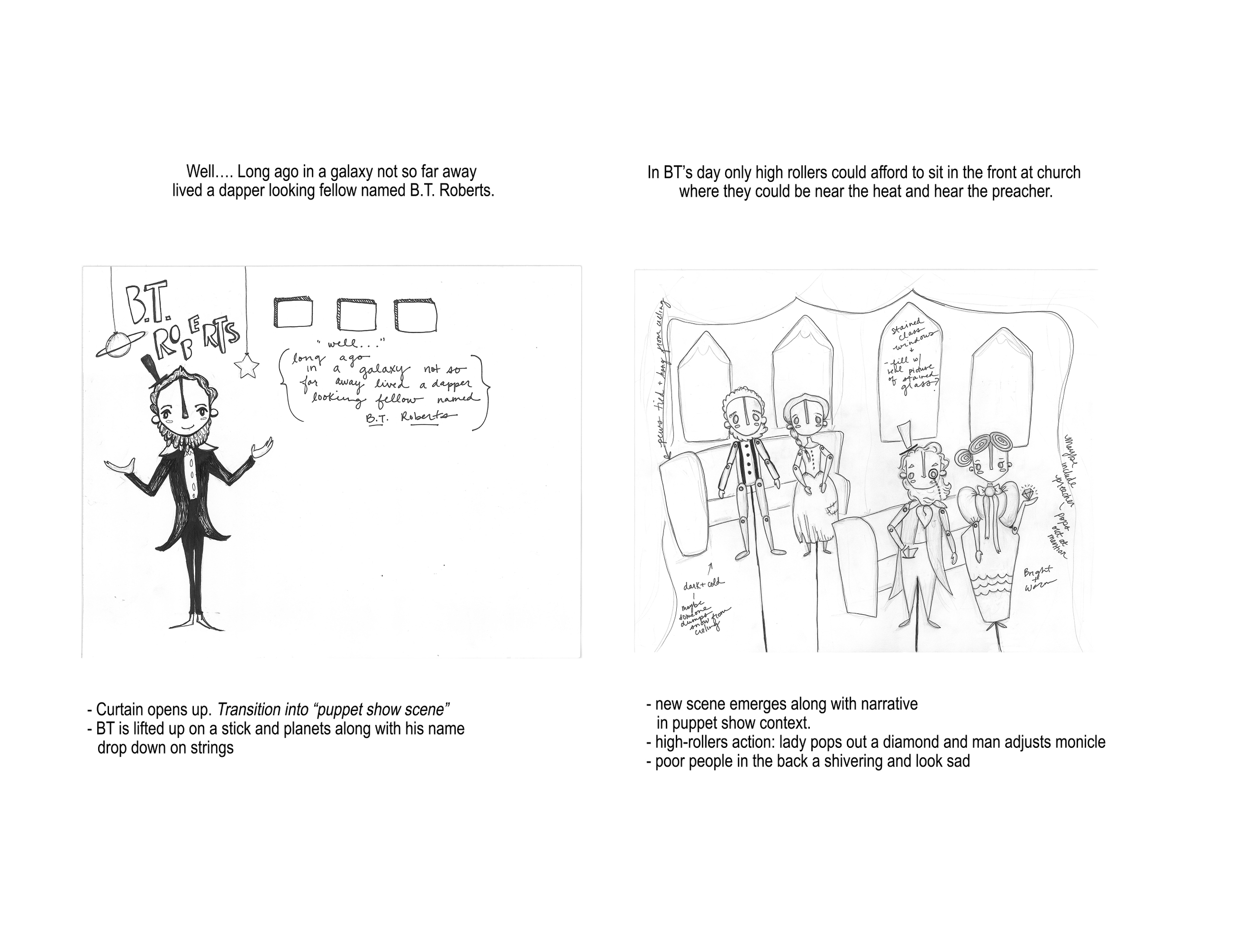 Motion Graphics - Timothy van Niekerk - Animation - Freelance - Storyboard
