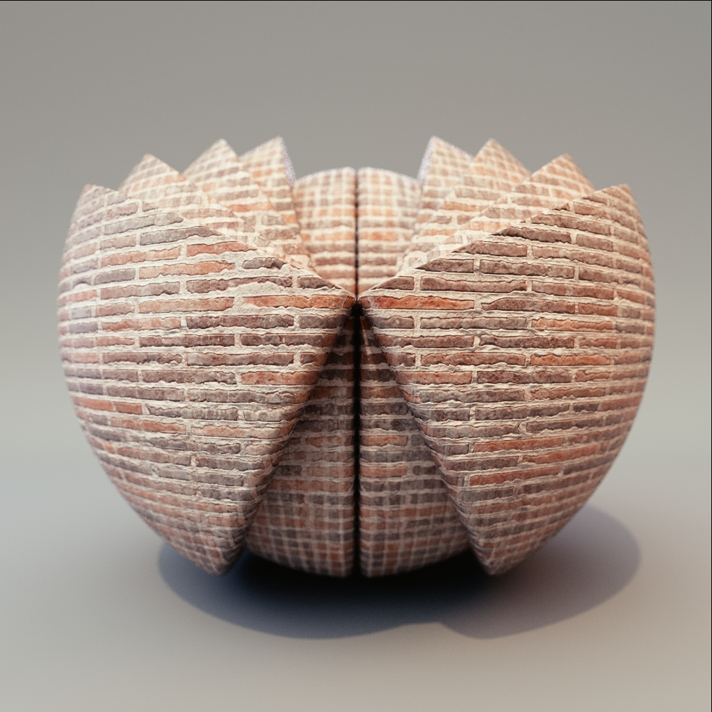 Brick - Thin Stacked Bricks
