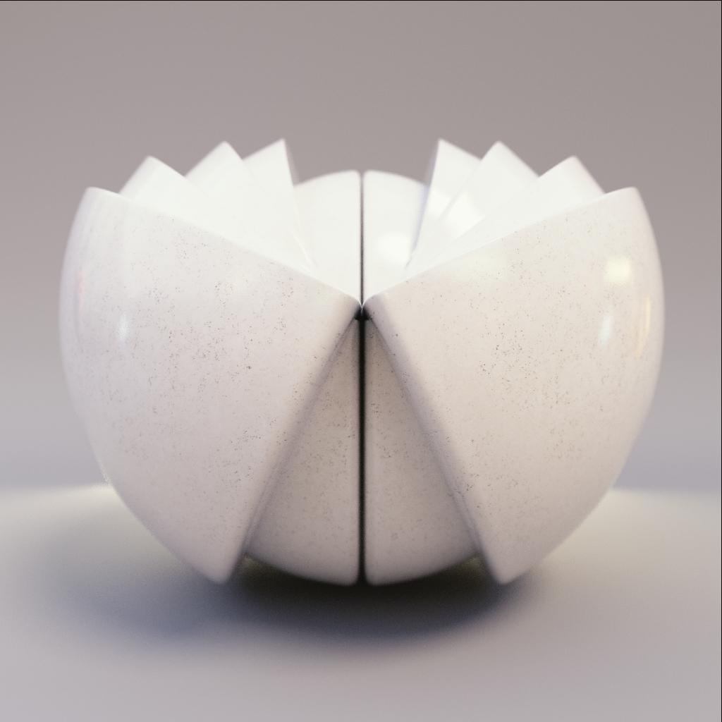 Marble - White Counter Granite