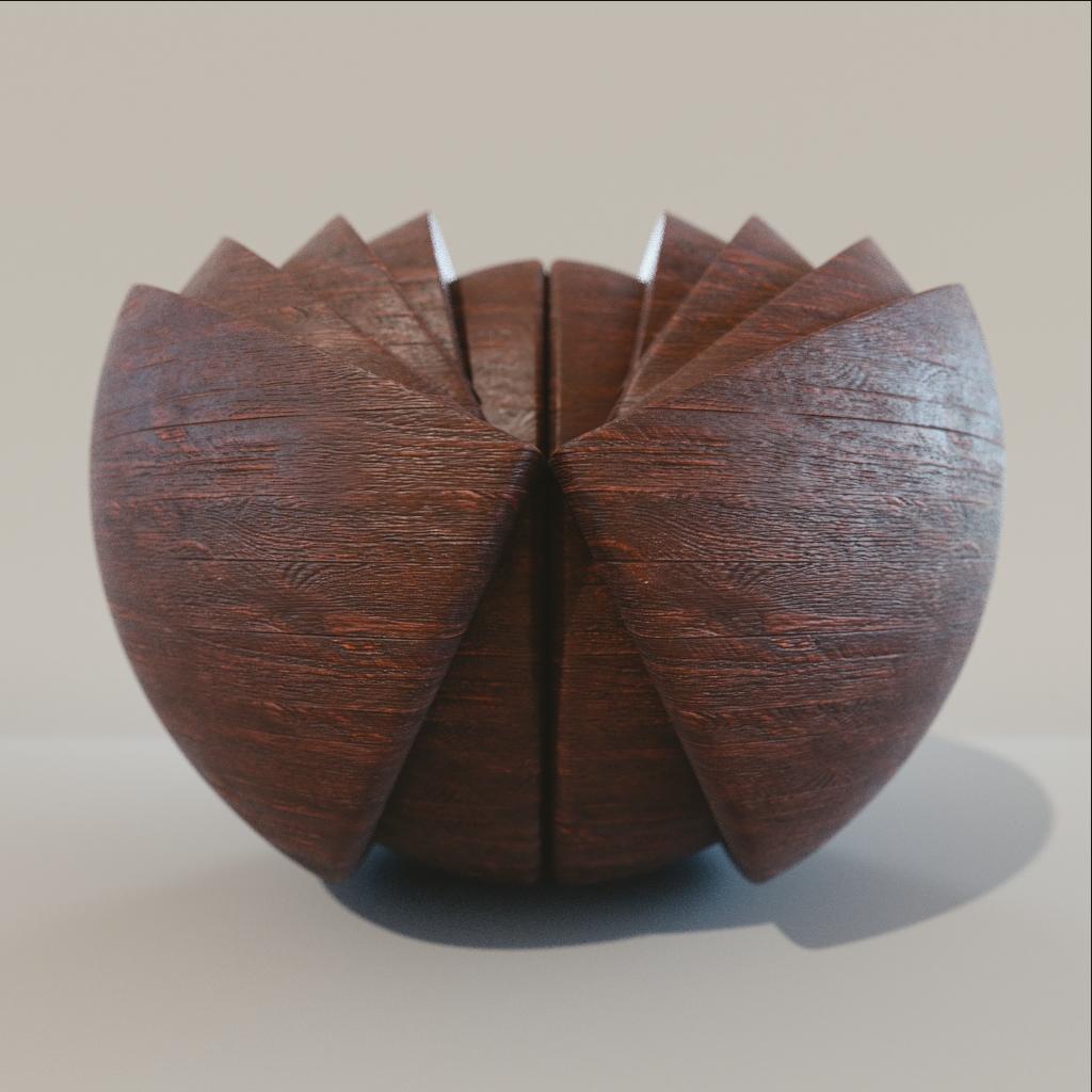Wood - Dark Rustic Oak