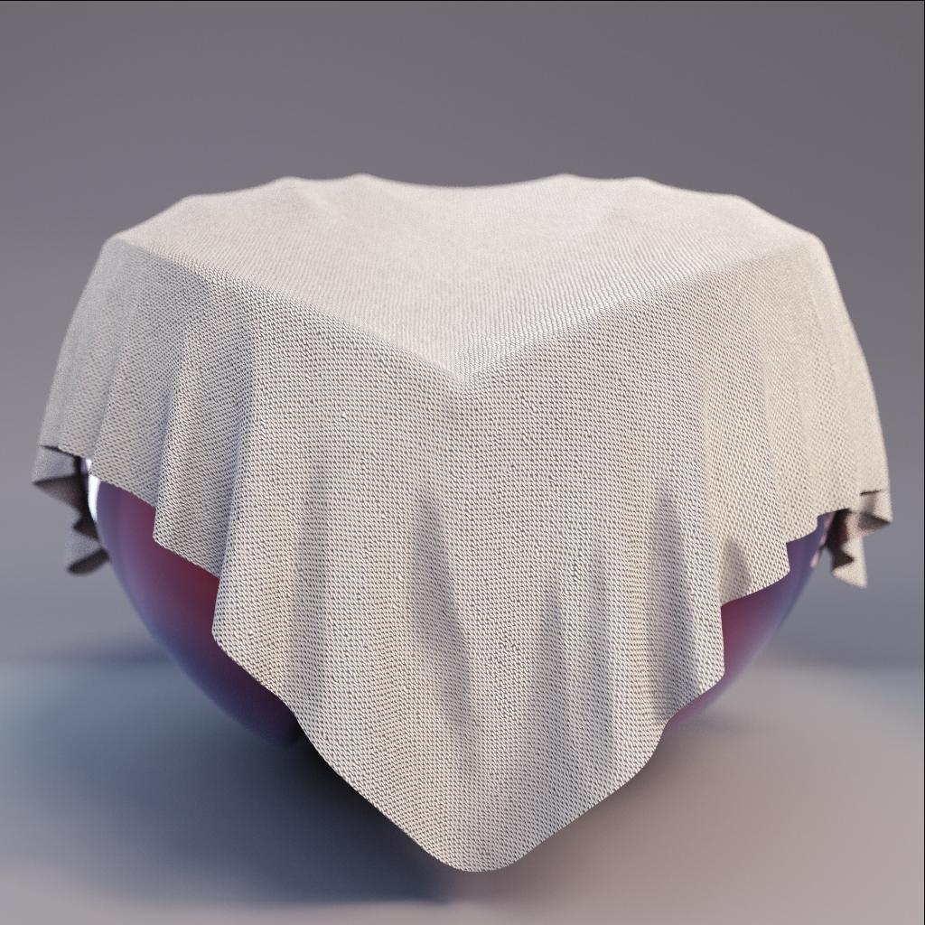 Fabric - White Fabric