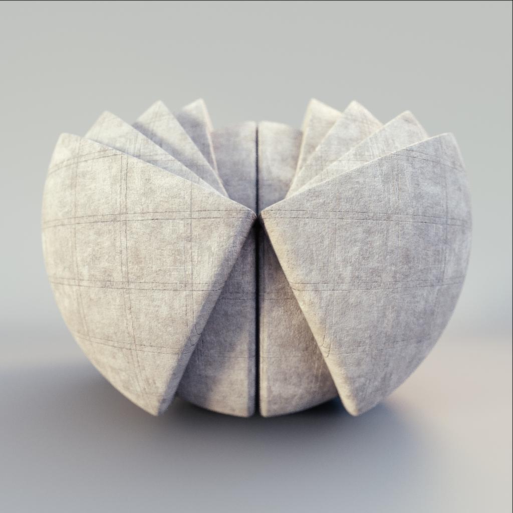 Concrete - Bordered Concrete Tiles