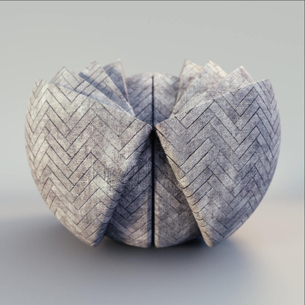 Concrete - Herringbone