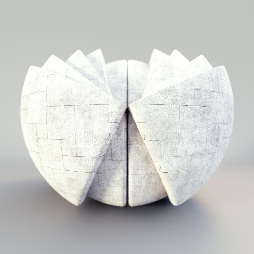 Concrete - Opus Pattern Concrete Tiles