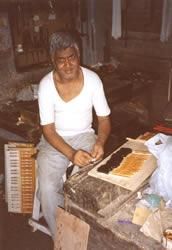 Om Prakash building a Signature 23 at the DMS workshop