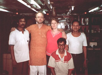 Mondal Sahib and his foremen - Calcutta