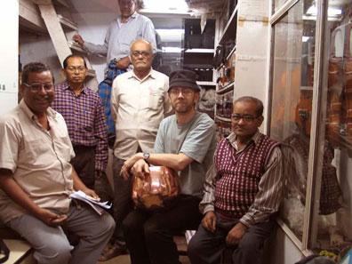 Visiting with Monoj Kumar and family