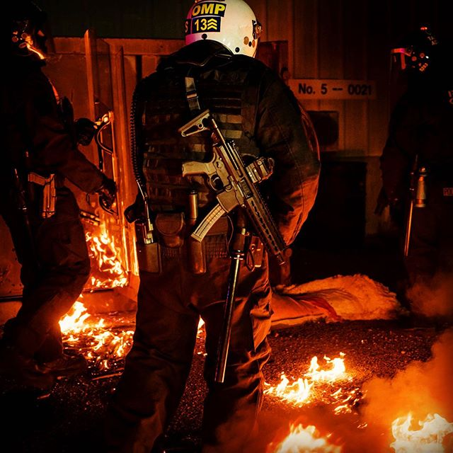 We will be getting our fire walk on again very soon 🔥 #riotcontrol #sigmpx