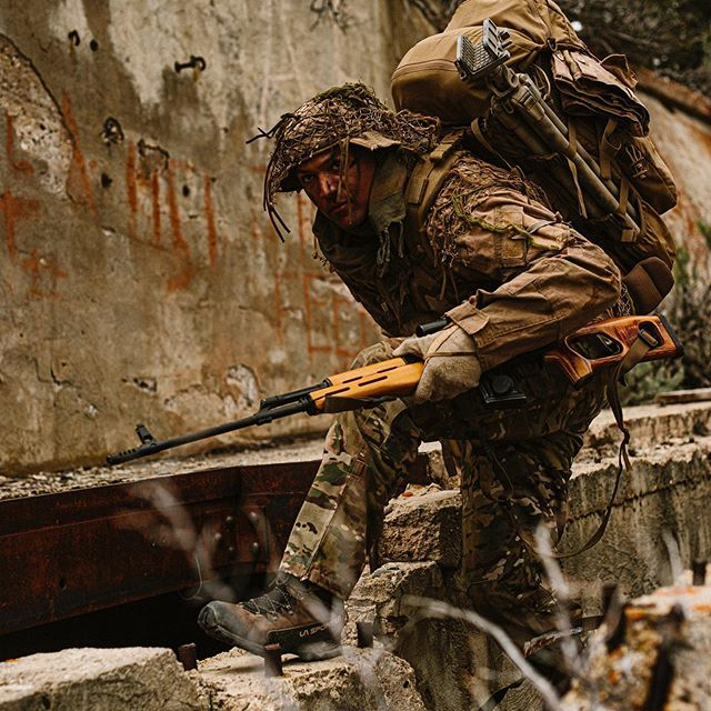Be vewy vewy quiet....I'm hunting wabbits 🐇 #svd #dragonov #sniper #oga