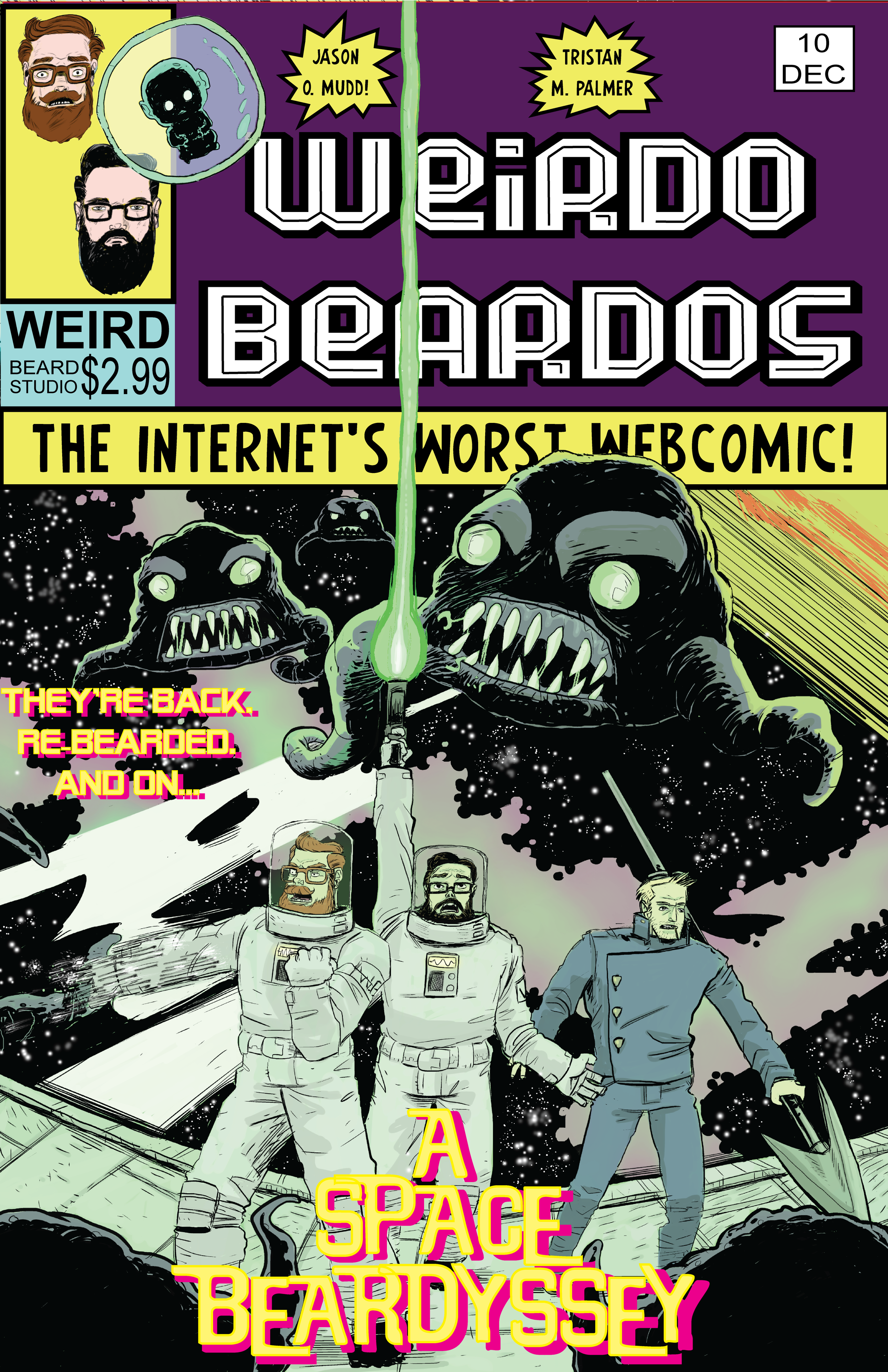 A Space Beardyssey Cover