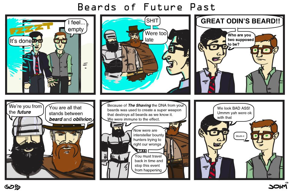 Beards of the Future Past