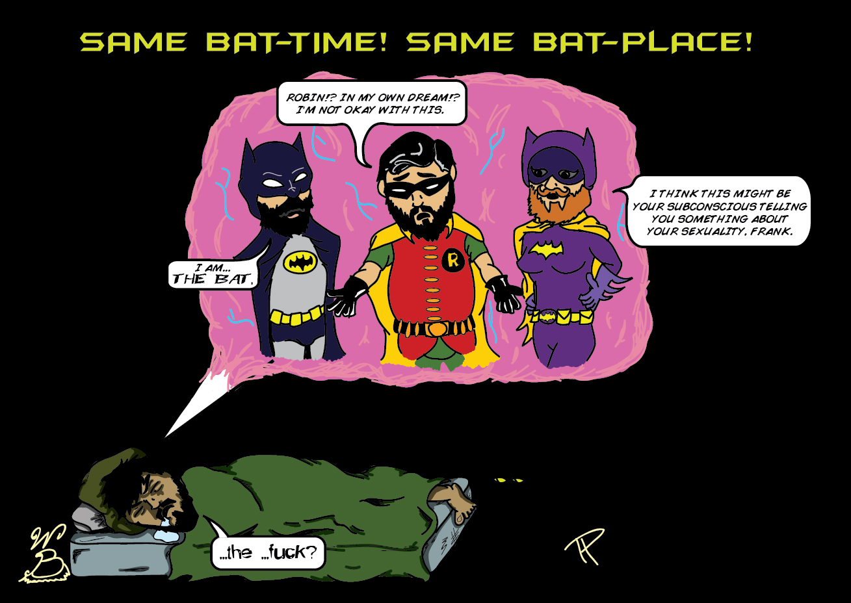 Same Bat-Time! Same Bat-Place!