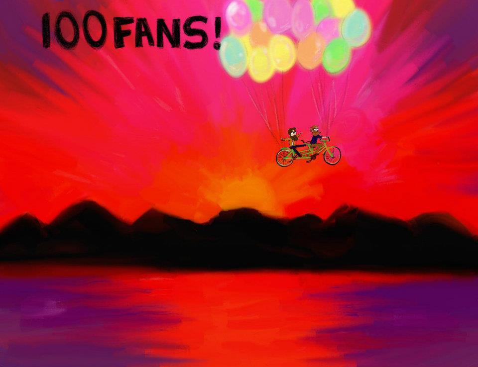100 Likes on Facebook achievement unlocked!