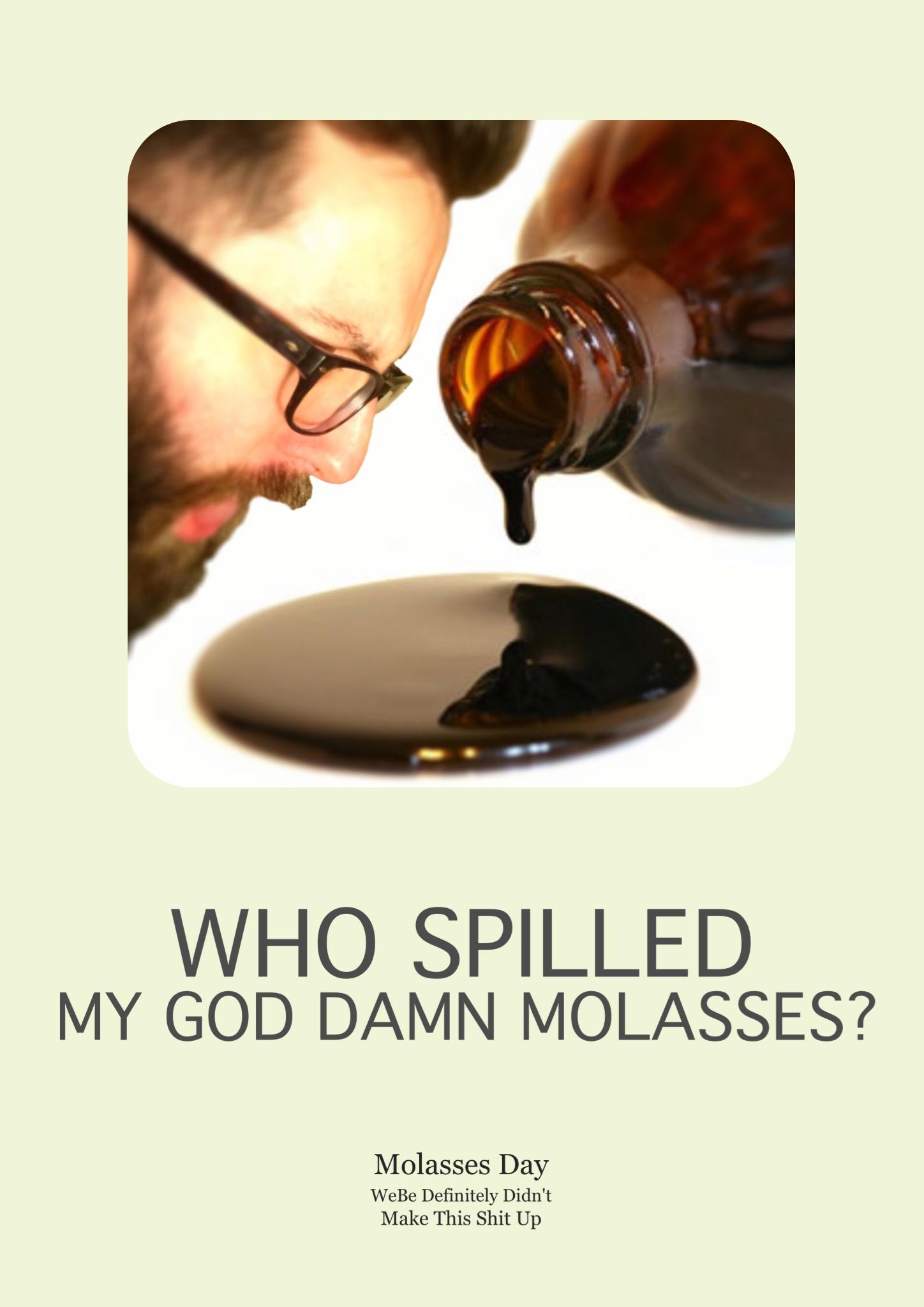 2016 - Who Spilled My God Damn Molasses.jpg