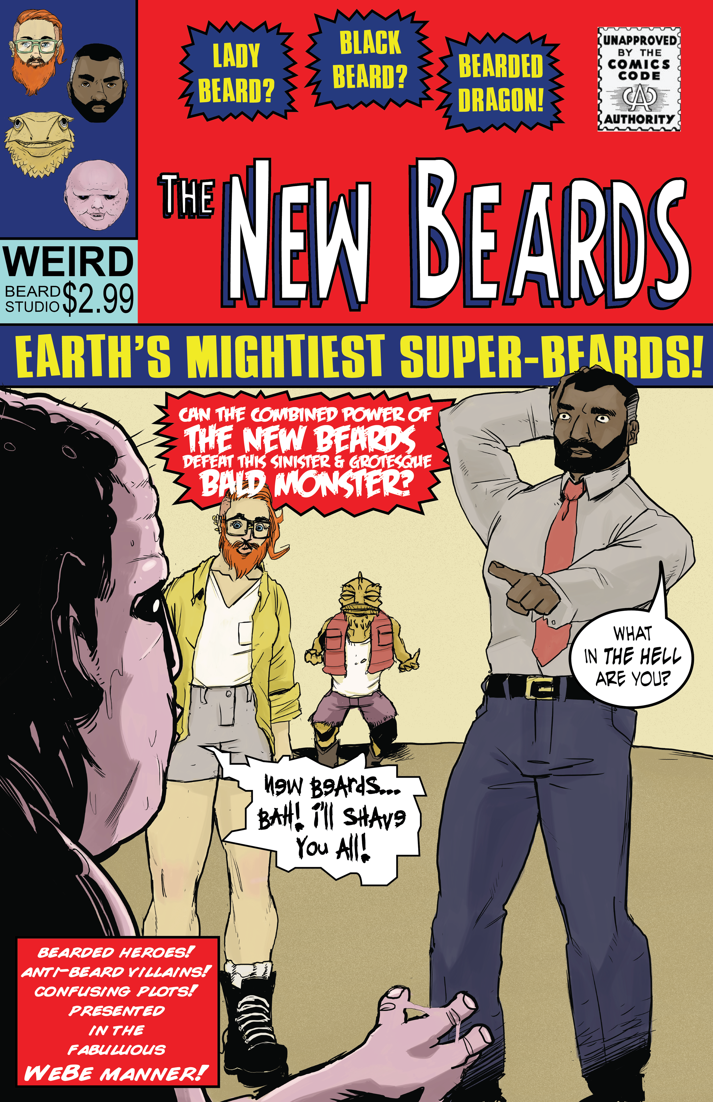 The New Beards Cover