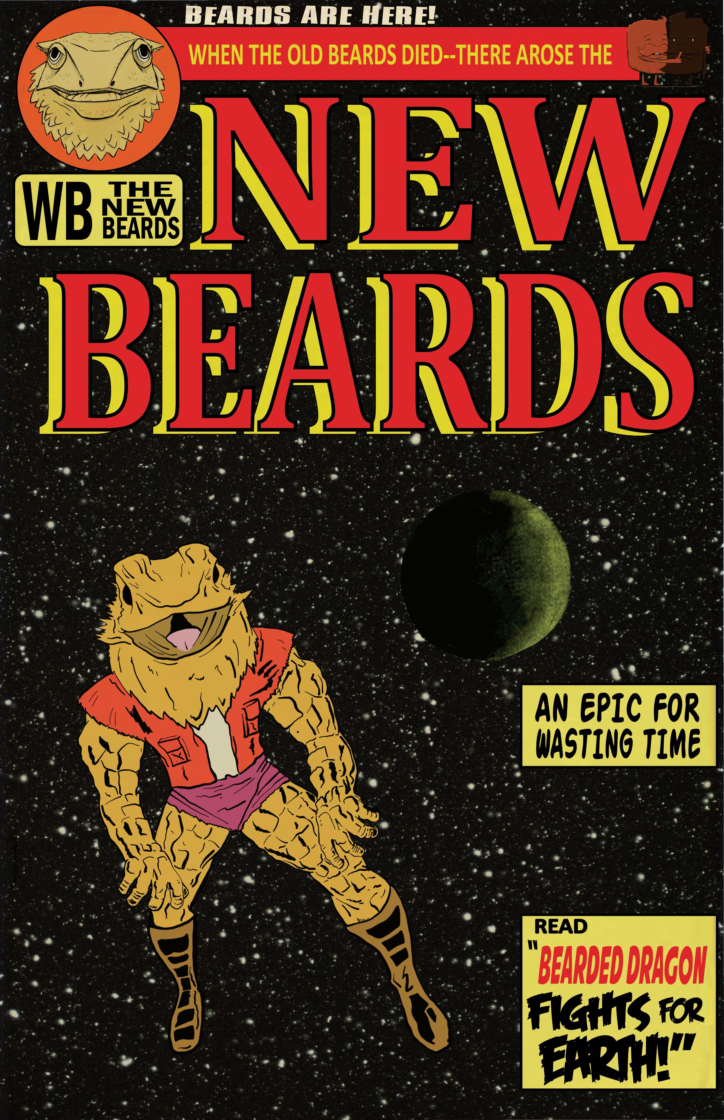 The New Beards Bearded Dragon Variant