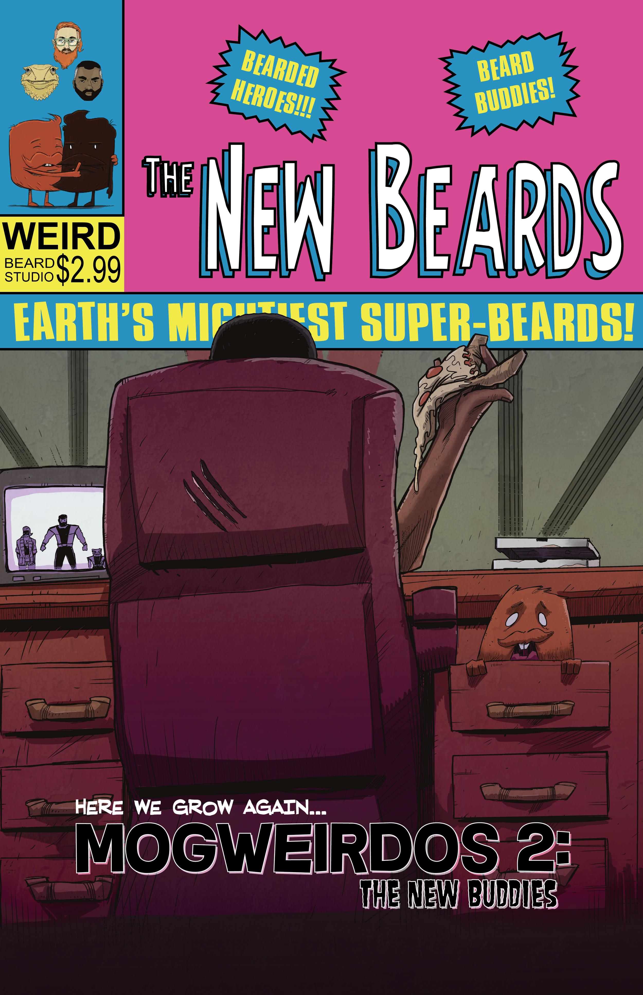 Mogweirdos 2: The New Buddies Cover