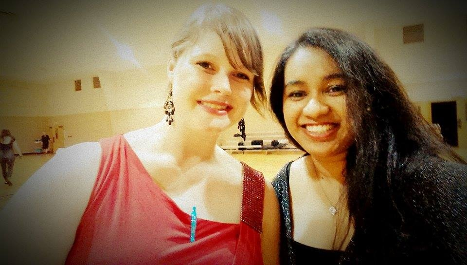 Nandita is just one of the great friends I met thru ballroom dance. She's gorgeous, talented and super smart