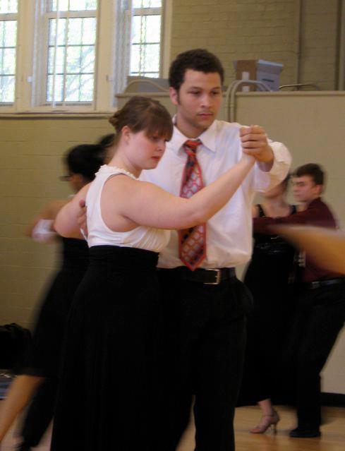 Dancing the tango with DJ