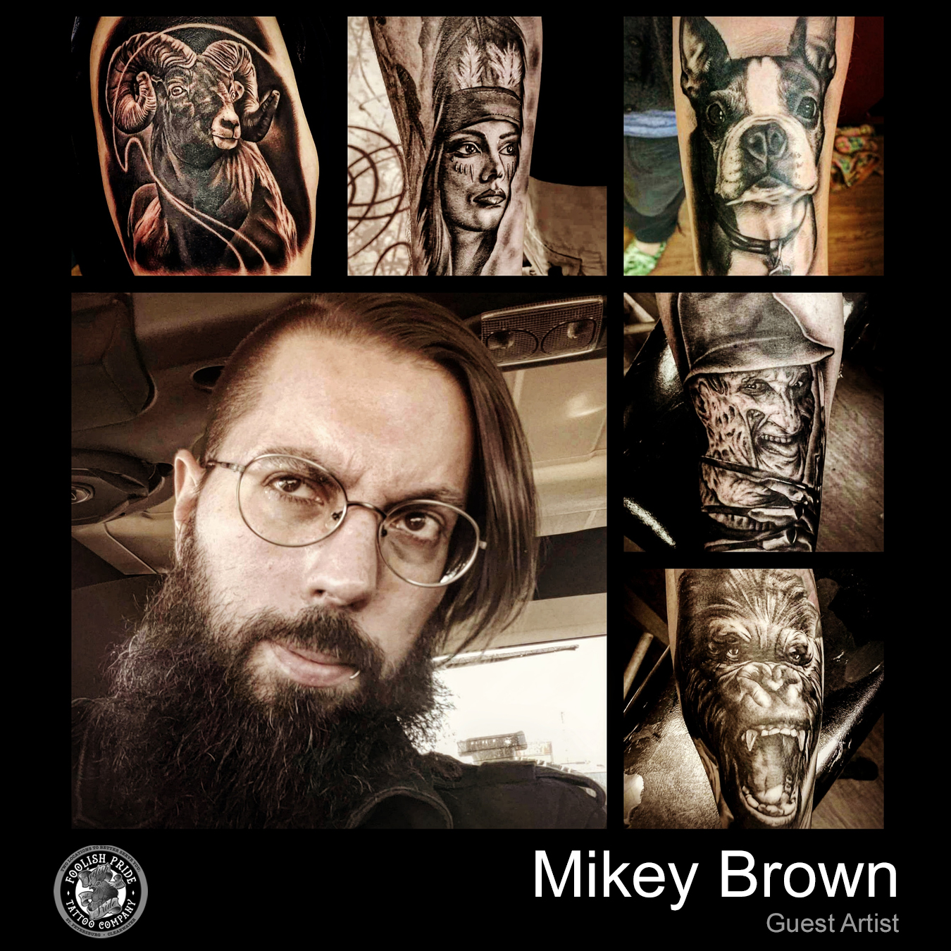 Mikey Brown    April 22nd - 29th