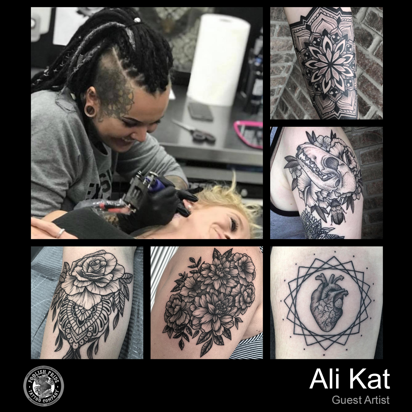 Ali Kat    June 13th - 17th