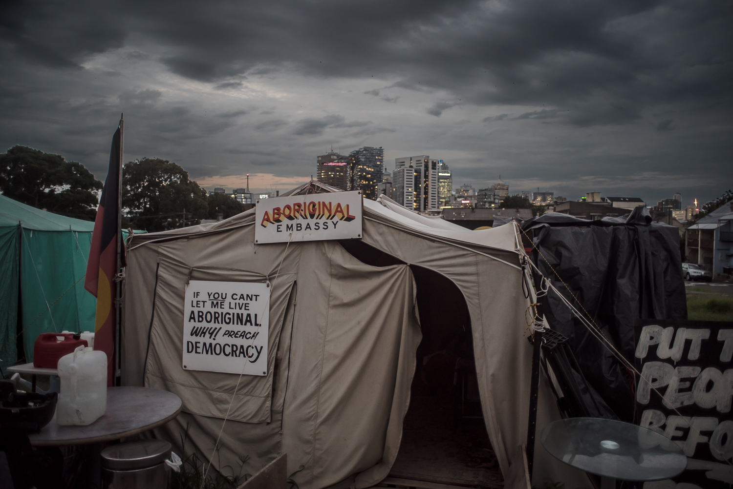 Redfern Aboriginal Tent Embassy