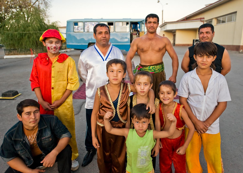 'Uzbek Strongman Circus'
